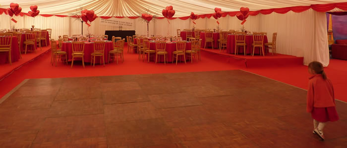 marquee dance floor rental gloucestershire