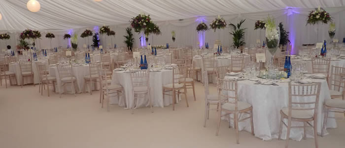 Corporate marquee hire in Gloucestershire - Stroud, Cirencester & Cheltenham