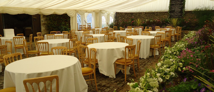Garden party marquee rental hire in Gloucestershire - Stroud, Cirencester & Cheltenham