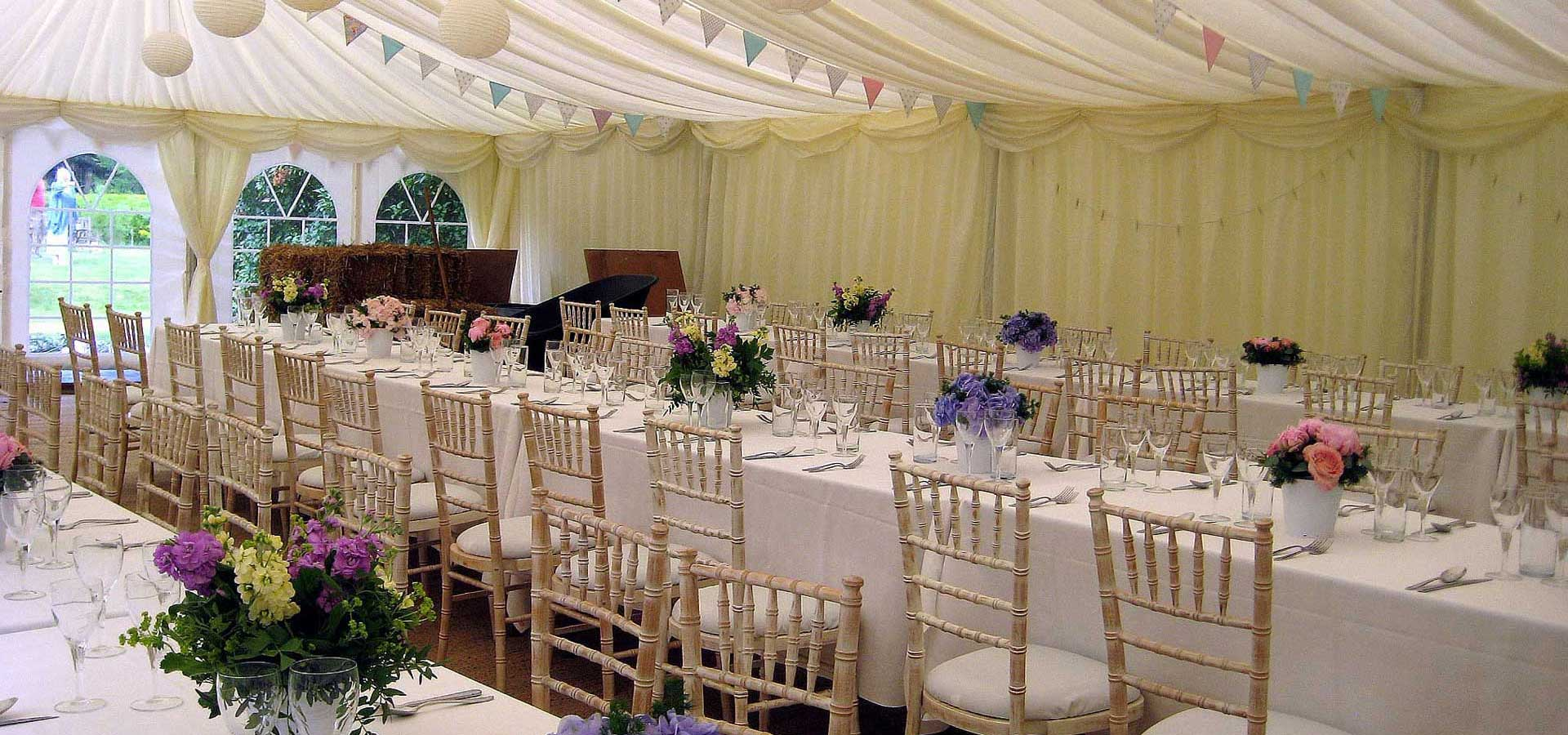 Alpha Hire Wedding Marquees