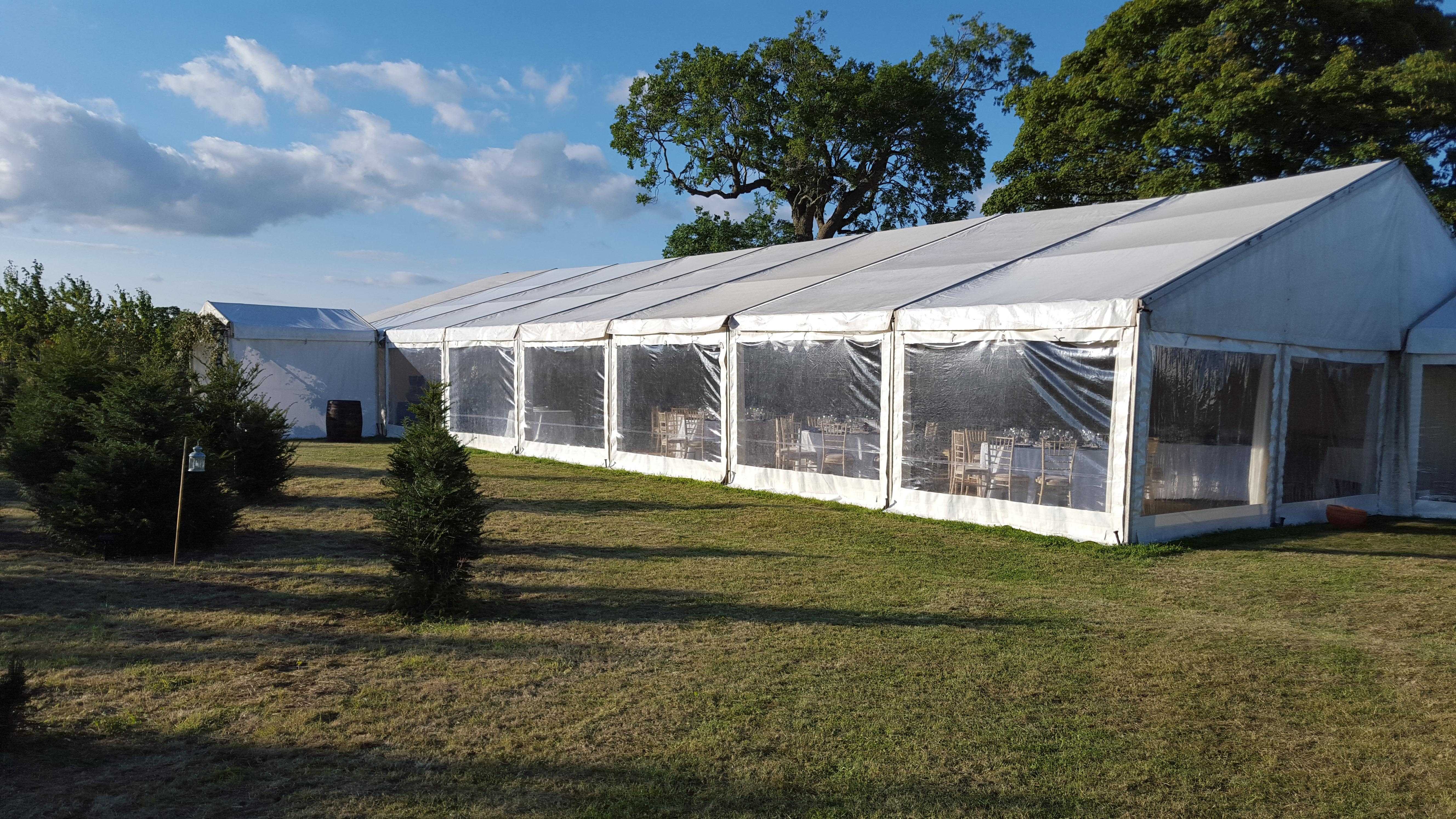 10 reasons to say YES to a marquee wedding!